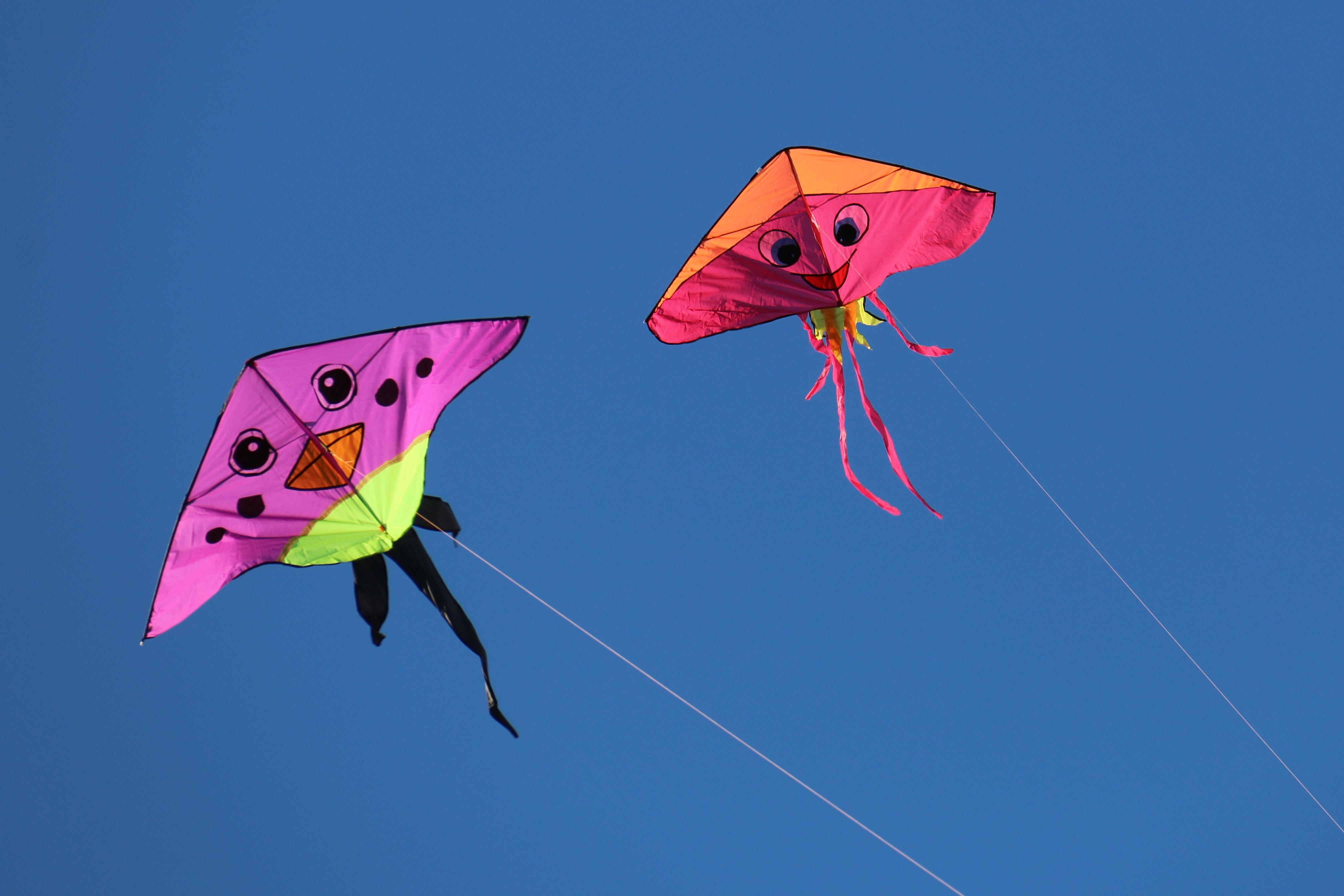 【お正月イベント】子どもと凧揚げを楽しもう!上手に揚げるコツは?